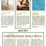 Jornal O Globo, agosto 2011